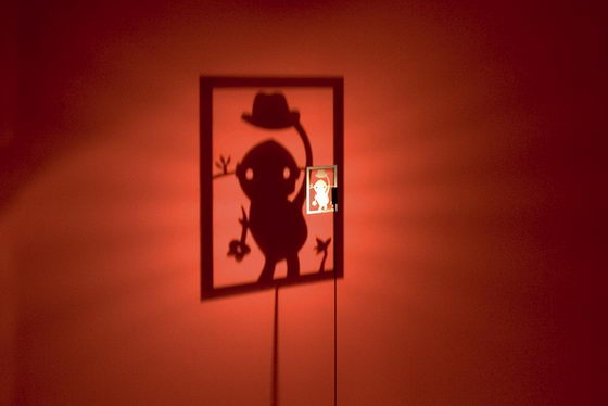 Shinning Image: Innovative Floor Lamps Play Trick of Shadow
