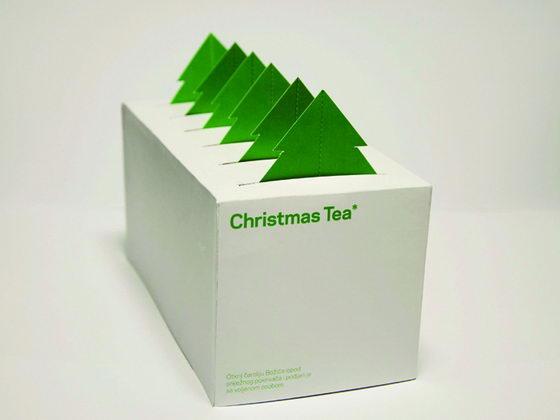 Christmas Tea: Innovative Tea Packaging Help Spread Christmas spirit