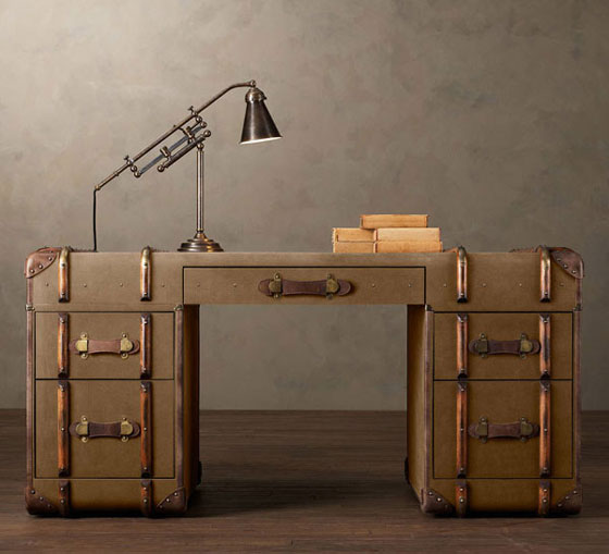 Richard's Trunks: Creative Vintage Furniture Made Out of Old Trunks