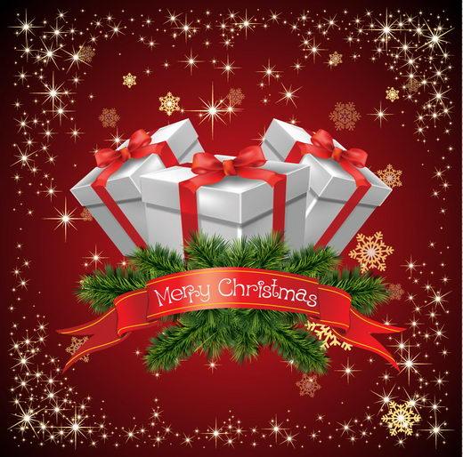 12 Beautiful Christmas Background, Merry Designswan Christmas!