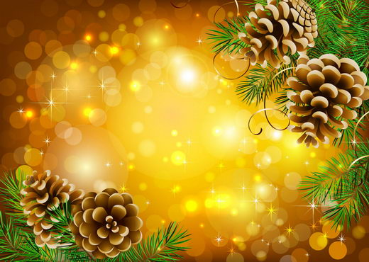12 beautiful christmas background merry designswan - Pretty christmas pictures ...