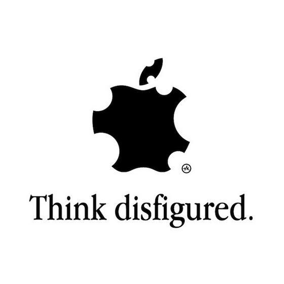 Think different: Apple Logo Transformation by Viktor Hertz