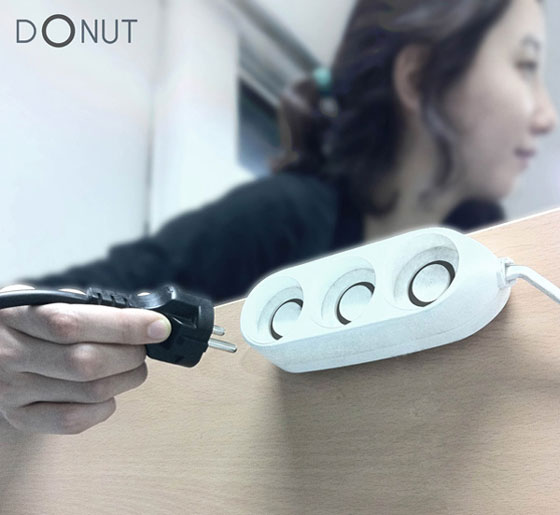 DONUT Outlet Makes Plugging Easy