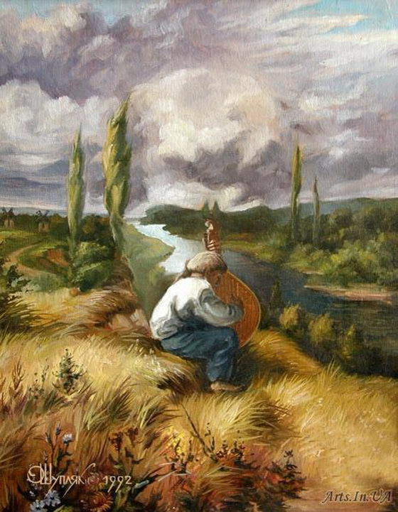 Hidden Images: Optical Illusion Paintings by Oleg Shuplyak