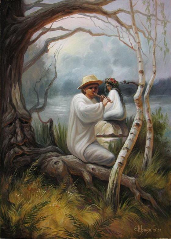 Hidden Images: Optical Illusion Paintings by Oleg Shuplyak