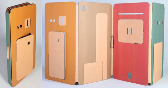 My Space: Pop-Up Cardboard Playhouse by Liya Mairson