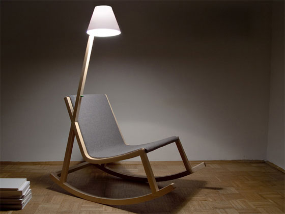 12 Cool And Unique Rocking Chair Designs