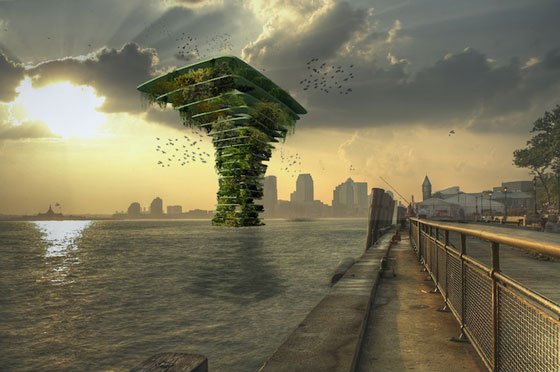 Floating Sea Tree: Bring Back Healthy Enviroment