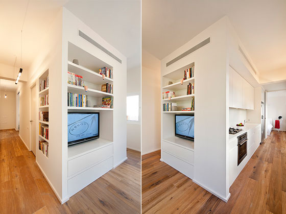 Creative 40 Square Meter Apartment Renovation: from Studio to One ...