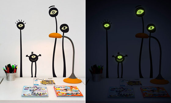 Interesting Wall Decals Glow in Dark