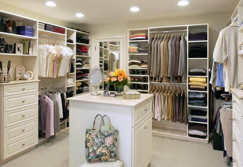 Home inspiration 32 beautiful and luxurious walk in - Walk in closet designs for a master bedroom ...