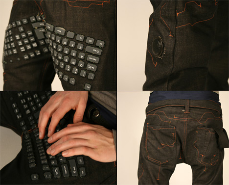 Keyboard Pants: Beauty and the Geek
