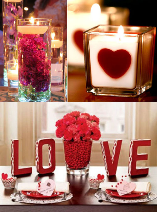 32 cool and beautiful decorating ideas for valentine s day for Valentine s day room decor
