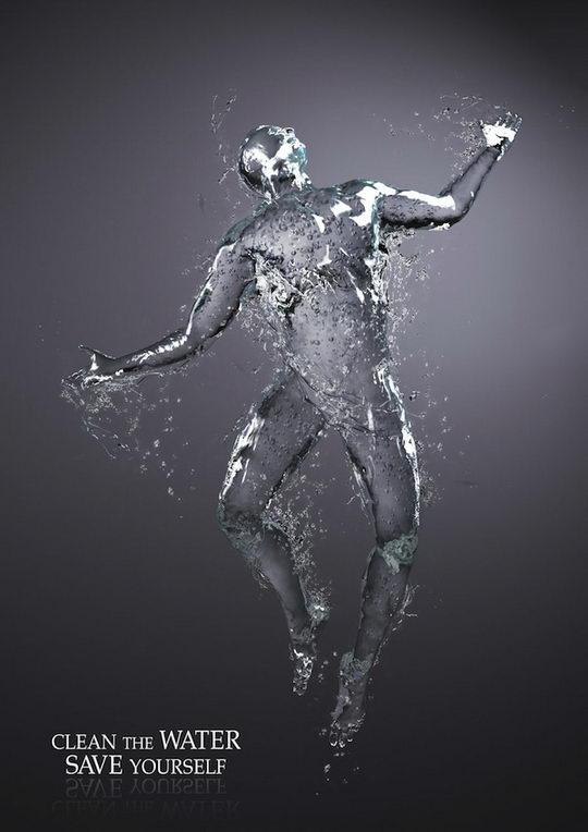 17 Fantastic Examples of Water Photo Manipulation | Design Swan