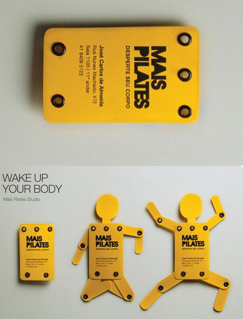 22 Creative and Unusual Die-cut Business Card Designs