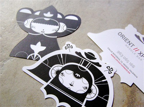 22 Creative and Unusual Irregular-shape Business Card Designs