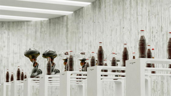 Dancing Coca-Cola bottles by KORB