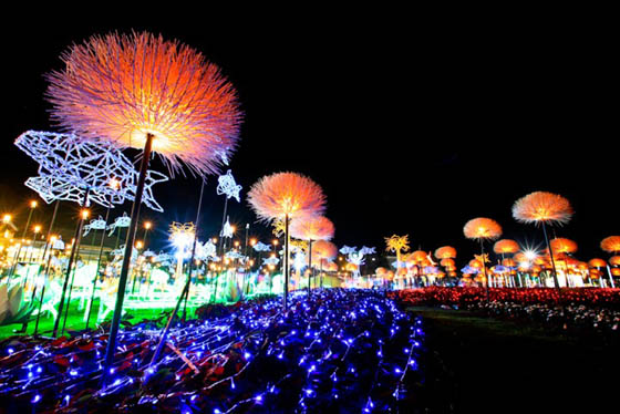 Sea of Lights: The Imagination Light Garden in Thailand