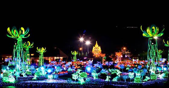 Sea of Lights: The Imagination Light Garden in Thailand