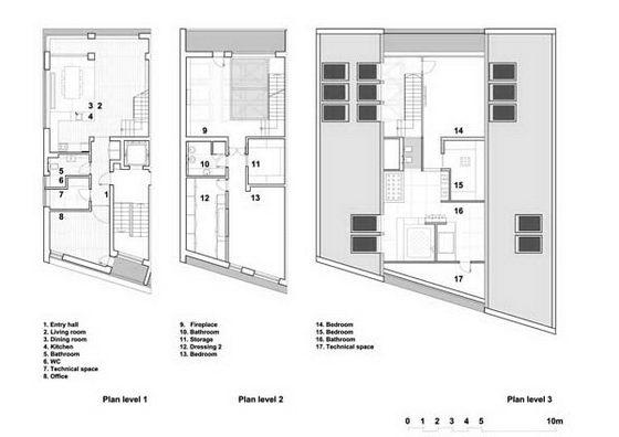 Cetatuia Loft: Modern Transparent Loft by Ion Popusoi and Bogdan Preda