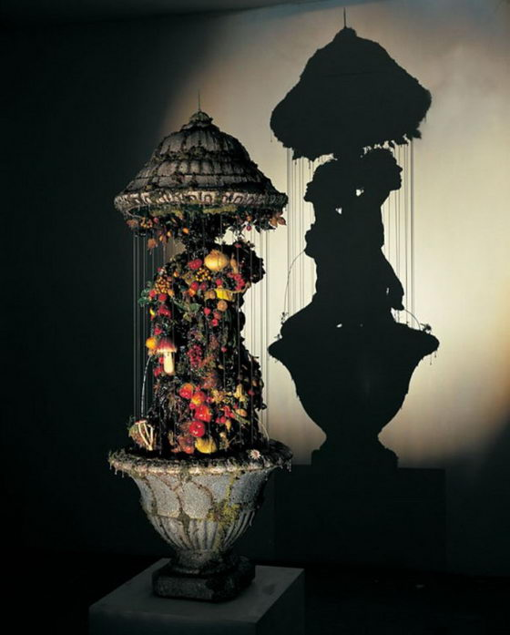 Unusual Shadow Art Created Out of Trash