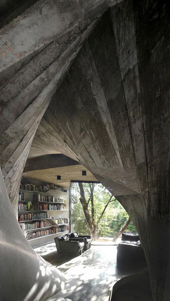 Unusual Tea House Design By Archi Union Design Swan