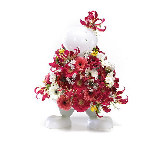 "Funny ""Bloom My Body"" Vase"