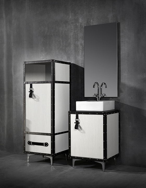 Unusual Luggage Suitcases Inspired Bath Furniture