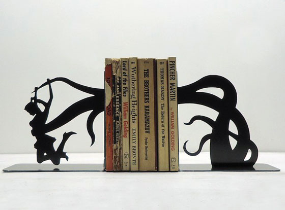 Cool and clever Bookends by Knob Creek
