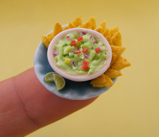 Stunning Miniature Food Sculptures by Shay Aaron