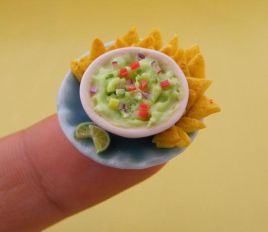 Stunning Miniature Food Sculptures by Shay Aaron