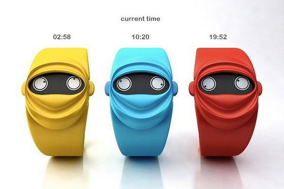 Ninja Time Watch Concept: This Watch goes Ninja