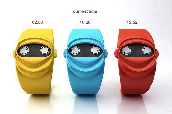 Ninja Time Watch Concept: This Watch goes Ninja