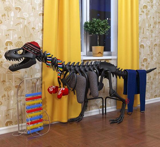 Awesome Thermosaurus radiator Shapes Like T-Rex
