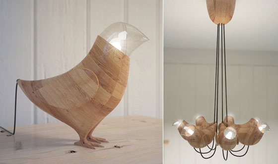 Go Nature: 9 Creative and Cool Wooden Lamp Designs – Design Swan