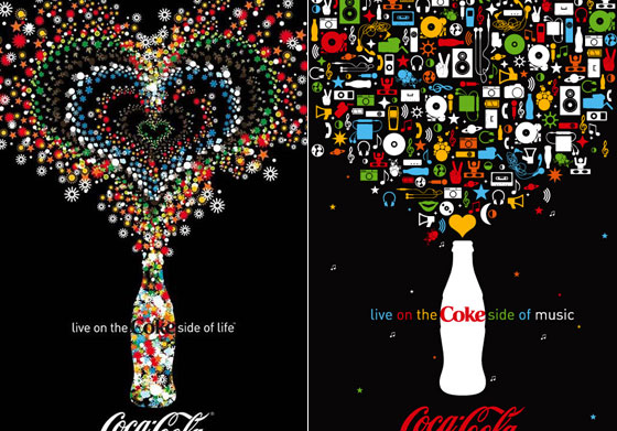 Inspiring Coca Cola Print and Outdoor Advertisement Design