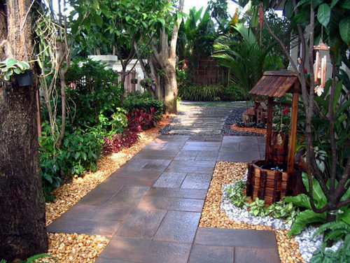 gardening and ideas garden design patio pictures small