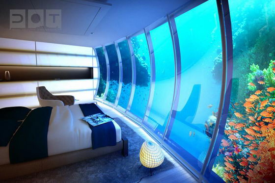 Futuristic Underwater Hotel for Dubai