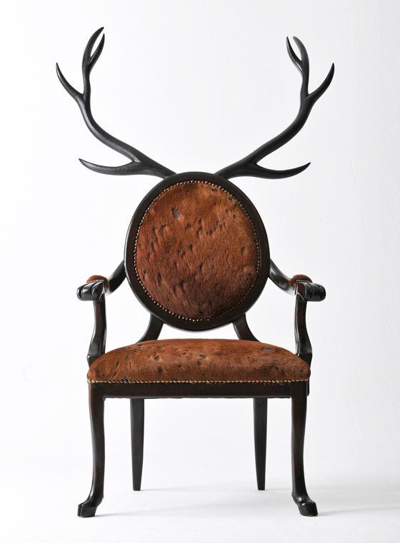 HYBRID: stunning Zoomorphic Chairs by Merve Kahraman