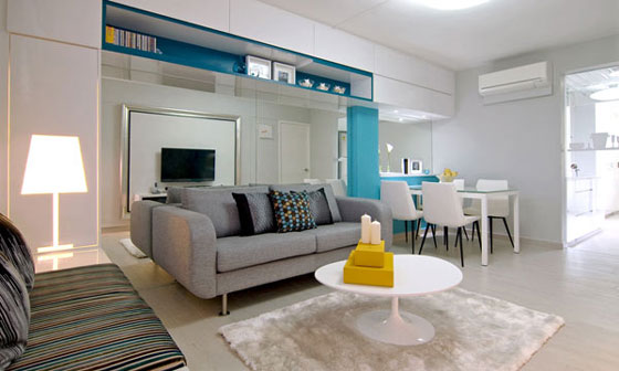 Incredible Renovation: Successful Makeover of Singapore Shoebox Apartment