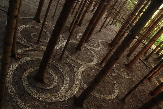 20 Beautiful Land Art Creations