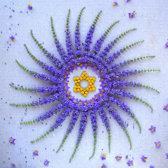 Intricate but Elegant Flower Danmala by Kathy Klein