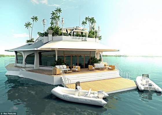 Boat or Island? It is Osros Floating Island