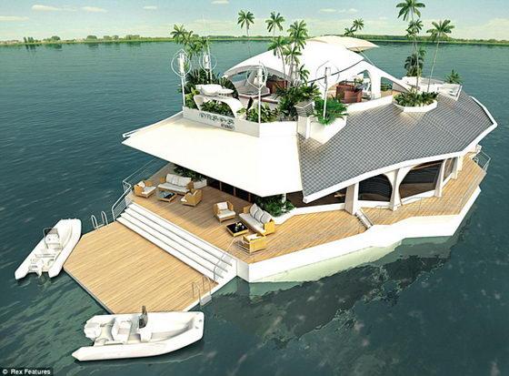 Boat or Island? It is Osros Floating Island