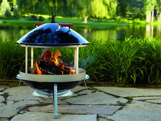 10 Beautiful Outdoor Fireplaces and Fire Pits