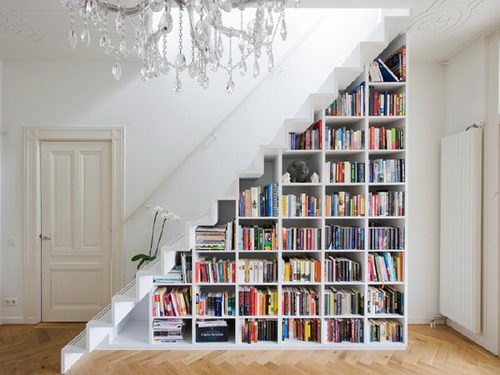 30 Creative Ideas for Maximizing Storage Space around Stair