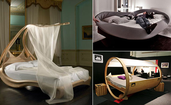 14 Unique and Exotic Bed Designs for Unusual Sleep Experience ...