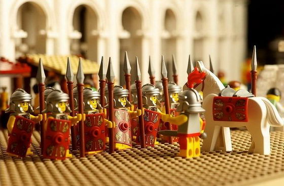 Mind-boggling World's First Rome's LEGO Colosseum by Ryan McNaught