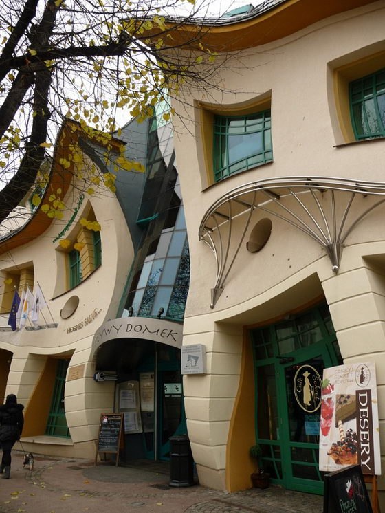 Krzywy Domek: Mind-Blogging Crooked House in Poland