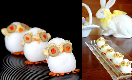12 Cute Boiled Egg Creation